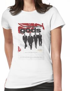 Red and Suave Gods- Bill Shankly, Bob Paisley, Joe Fagan & Ronnie Moran Womens Fitted T-Shirt