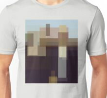 Wood: American Gothic (computer-generated abstract version) Unisex T-Shirt