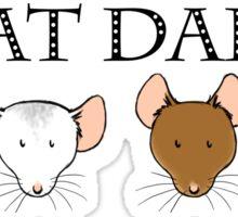 Rat Dad Sticker