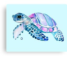 Lovely Turtle Canvas Print