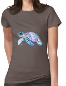 Lovely Turtle Womens Fitted T-Shirt