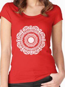 Legend of Korra - White Lotus Women's Fitted Scoop T-Shirt