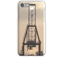 Container Crane iPhone Case/Skin