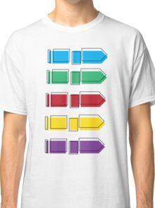 Colourful Arrow Print Classic T-Shirt