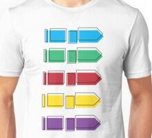 Colourful Arrow Print Unisex T-Shirt