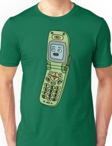 happy cellphone Unisex T-Shirt