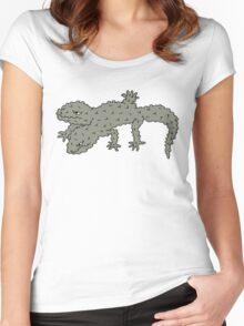 bubble gekko Women's Fitted Scoop T-Shirt