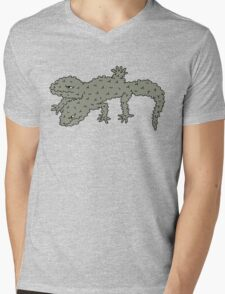bubble gekko Mens V-Neck T-Shirt