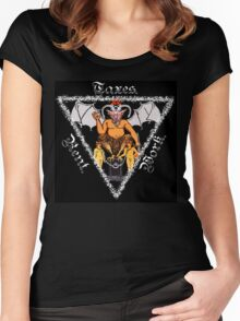 All Hail the Dark Lord Women's Fitted Scoop T-Shirt