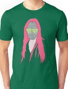 mistery mask girl Unisex T-Shirt