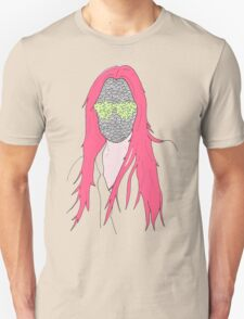 mistery mask girl T-Shirt