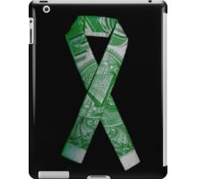 National Debt/Defecit Awareness Ribbon iPad Case/Skin