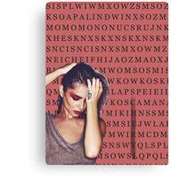 word search \ CHERYL Canvas Print