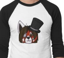Red Panda's Tophat Men's Baseball ¾ T-Shirt