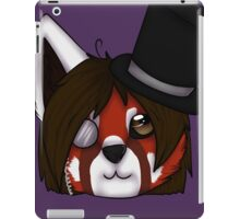 Red Panda's Tophat iPad Case/Skin