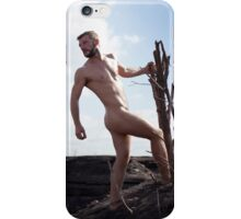 in the wild, sexy nude guy 1 iPhone Case/Skin