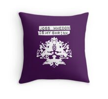 """Joss Whedon Is My Shrink"" - Light Throw Pillow"