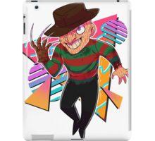 80s Horror Icons- Freddy Krueger iPad Case/Skin