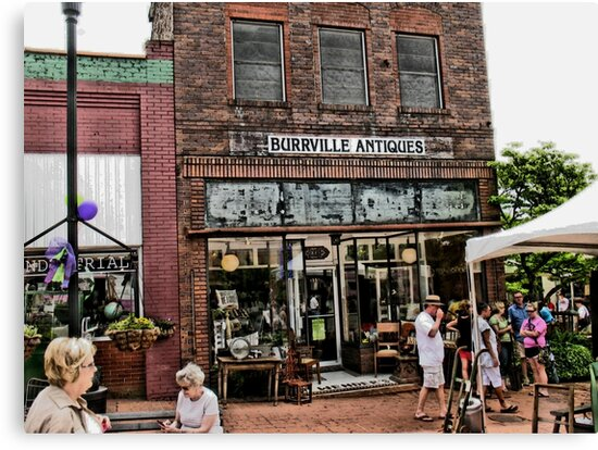 """Burrville Antiques""... prints and products by © Bob Hall"