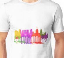 Philadelphia, Pennsylvania Skyline Puddles Unisex T-Shirt
