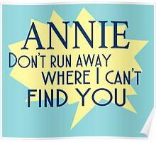 Annie Lyrics Highlight Poster