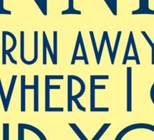 Annie Lyrics Highlight Sticker