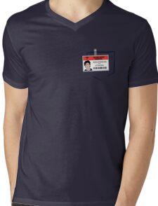 DJ's scrub Mens V-Neck T-Shirt