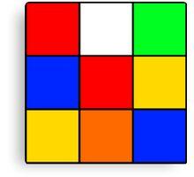 Rubik's stuff Canvas Print