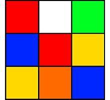 Rubik's stuff Photographic Print