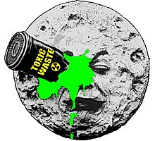 A Trip to the Moon Dump Photographic Print