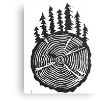 the wisdom is in the trees Canvas Print