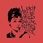Audrey Hepburn by B Loyola