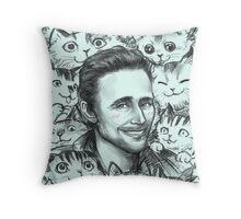 TOM KITTENSTON  Throw Pillow