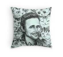 TOM KITTENSTON  Throw Pillow