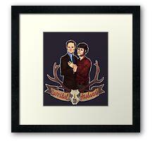 Cannibal Husbands Framed Print