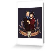 Cannibal Husbands Greeting Card