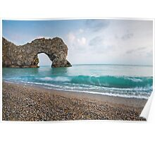 Afternoon at Durdle Door Poster