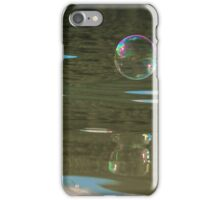 Bubbles on the Water iPhone Case/Skin