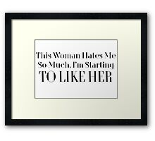 Jerry Senfeld Quote Framed Print