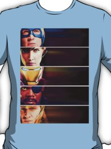 Marvel 'faces' - T-shirt T-Shirt