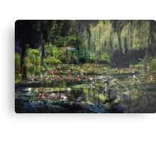 Monet's Lily Pond Metal Print