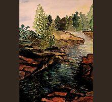 Rocky Stream - Back to Nature Unisex T-Shirt