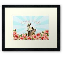 Magic Trick Rabbit Framed Print