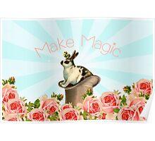 Magic Trick Rabbit Poster