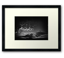 ©HCS The Monochrome Traces IA Framed Print