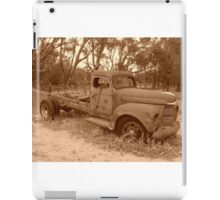 The Old Truck iPad Case/Skin
