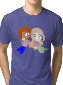 Cutie Couple: Mikah and Rapre Tri-blend T-Shirt