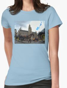 Grand Place,Brussels Womens Fitted T-Shirt