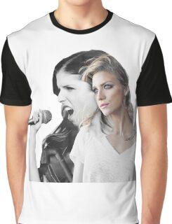 Anna Kendrick & Brittany Snow - Sendrick - Pitch Perfect Graphic T-Shirt