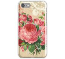 Pink Roses Heart iPhone Case/Skin